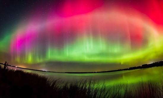 英国现罕见北极光 绚丽多彩引人入胜 - 晶莹玻璃心 - 玻璃欢迎您