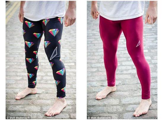 设计师让男士爱上紧身裤:图案绚丽舒服有型(图)
