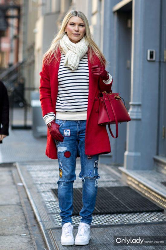 运动鞋也疯狂 早春时尚街头出位季