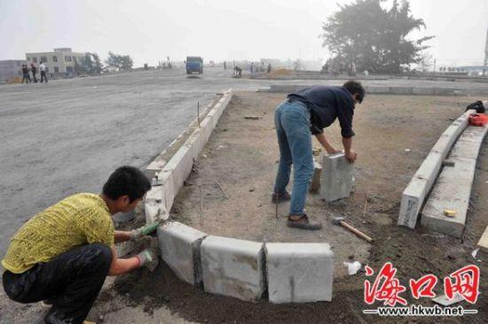 海口新东大桥施工接近尾声 月底具备通车条件