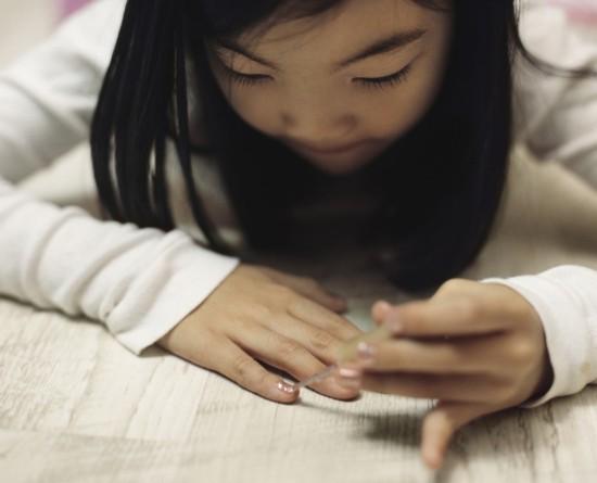 摄影师记录韩国小萝莉的成长时光图片