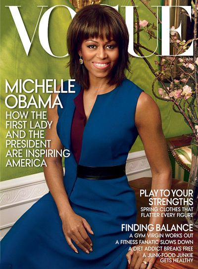 2013年4月再登《Vogue》