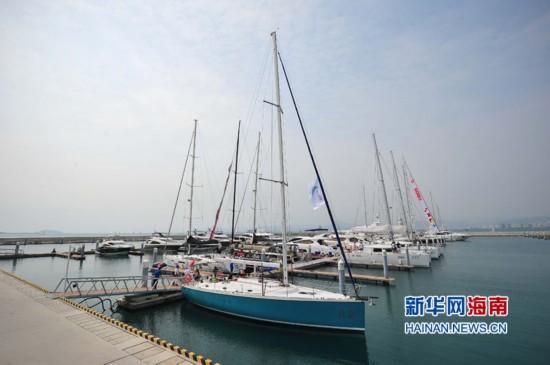 2014环海南岛国际大帆船赛将于3月21日开赛