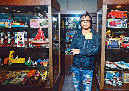香港首家玩具博物馆开幕鬼才彭顺展出逾万件玩具