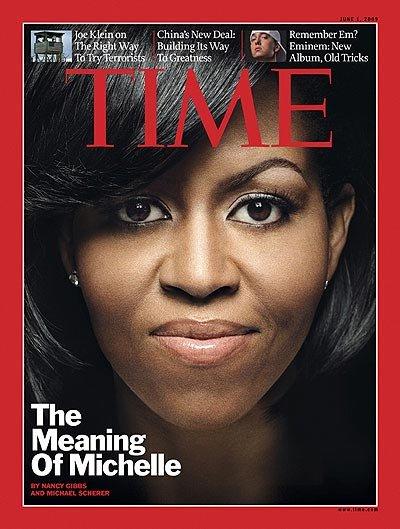 2009年6月登上《Time》