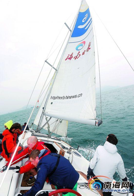 环岛大帆船赛21日开赛 372名国内外船员参赛