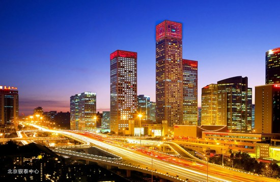 北京银泰中心 平面图