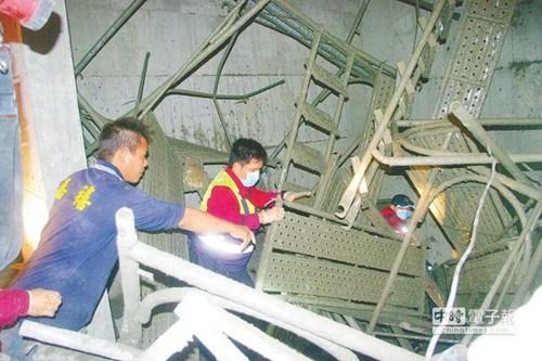 台湾一工地一天内4人坠楼1人身亡停工调查(图)