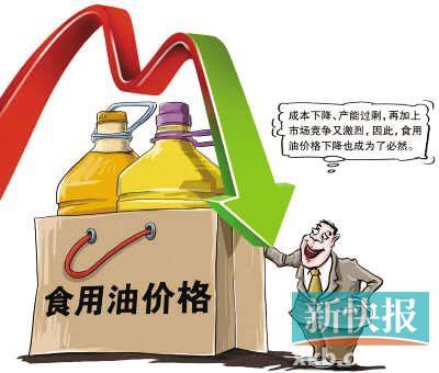 国际菜油原料价下滑国内食用油价格普降至少下调5%-重点新闻