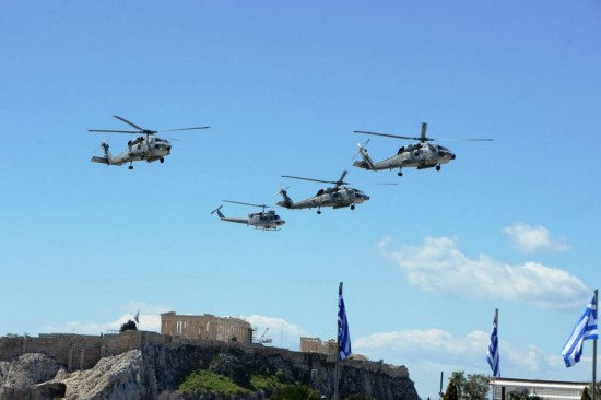 希腊举行盛大阅兵式 主战武器全亮相【8】