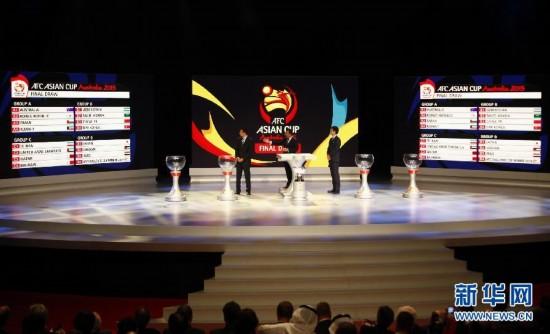 亞洲杯分組抽簽:國足遇朝鮮沙特烏茲別克