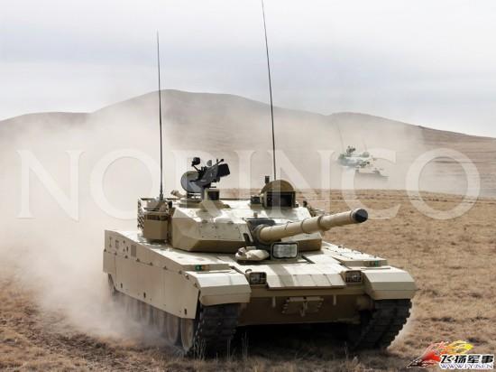 中国新一代外贸主战坦克等多型装备公开亮相