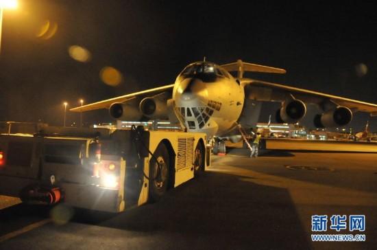 中国空军克服不利因素全力搜寻马航失联客机
