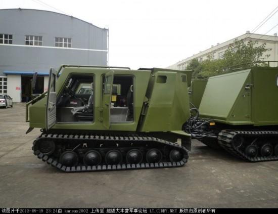中国新型全地形车曝光 外形像 山猫 火力更猛图片