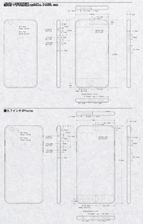 或iphone6设计图泄露
