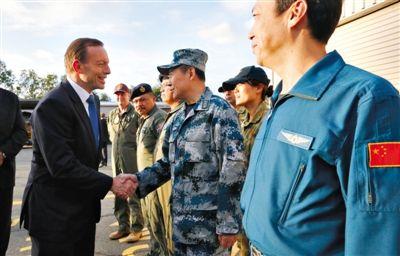 阿博特 马航/澳总理承诺搜寻MH370不设期限各国自己承担搜索费