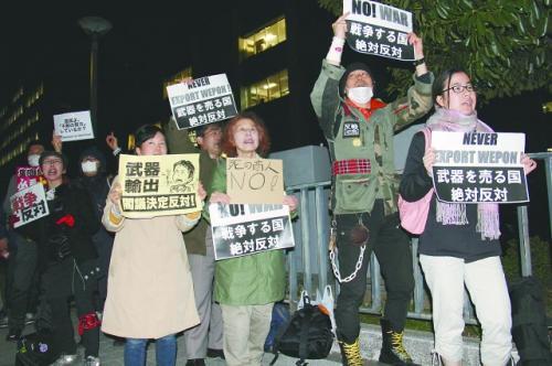 日本打开武器出口大门 追求军事力量大国化
