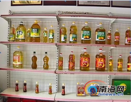 """海南""""符氏花生油""""标签造假 涉嫌欺骗消费者"""