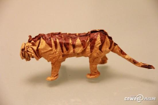 恐龙折纸步骤图解