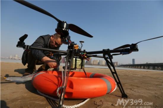 哈尔滨市民自制飞行器