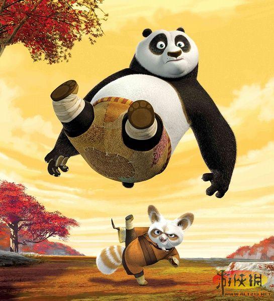 4.《功夫熊猫》高清图片