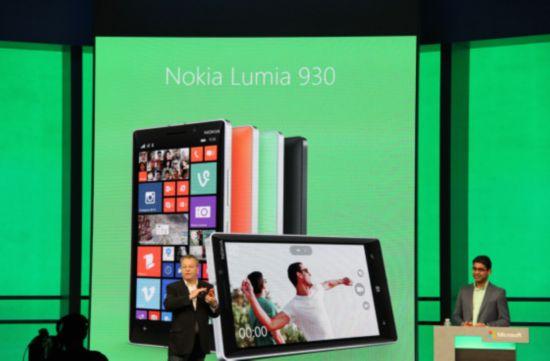 诺基亚前CEO埃洛普回归微软发布新旗舰Lumia 930