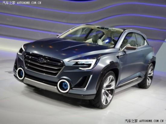 斯巴鲁Viziv-2概念车将在北京车展亮相