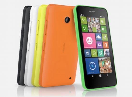 诺基亚低端新机Lumia 630和635