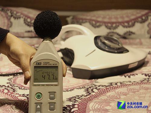 環境噪音47.7db