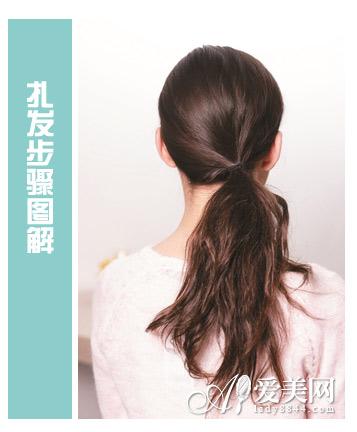 扎发优雅绽放 刘海编发步骤详解 三步提升甜美度 2014年春夏发型 短发