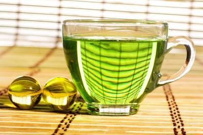 绿茶粉去角质霜