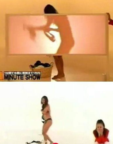 网络流传着一段视频 是日本某综艺节目举办美女