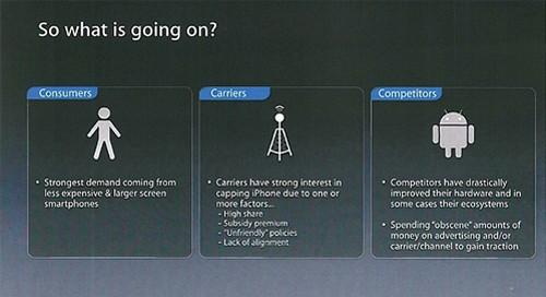 苹果担忧iPhone发展前景 屏幕尺寸将增大