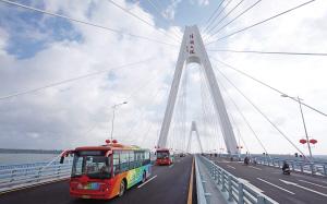 海南投18.5亿架起4座大桥 铺前大桥开工在即