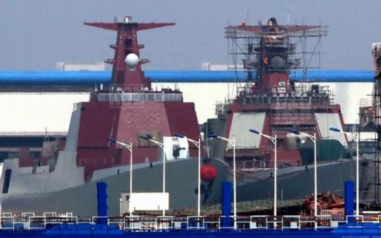 日媒曝解放军智商最高战舰 052D辽宁舰在列