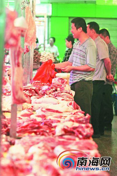 海南猪肉价格下跌达3成 屯昌养猪户月亏百万