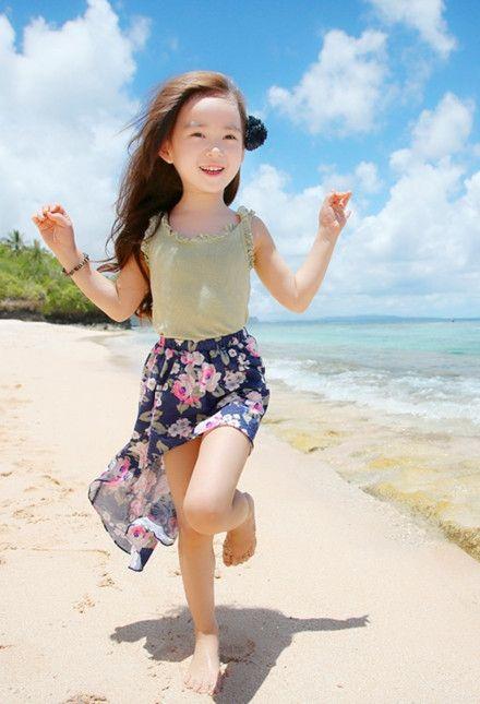韩国网拍服饰模特儿,6岁,匿称wonei