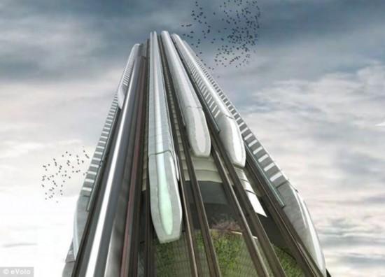 沙特欲建1000米高楼 或用高压管将水泥喷上去