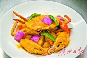 咖喱土豆�h肉蟹