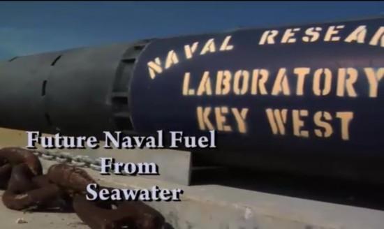 """美军解决海水变油难题 舰艇飞机将喝""""水"""""""