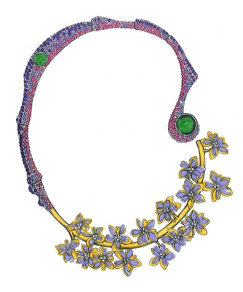 施华洛世奇联手M.C.L推出宝石花园系列珠宝