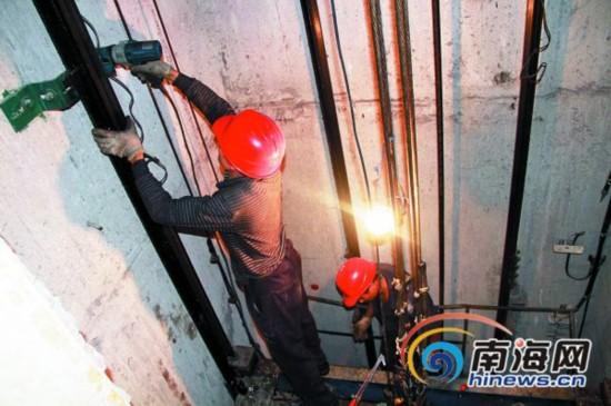 海口电梯年检每部加收300元 物业协会:重复收费