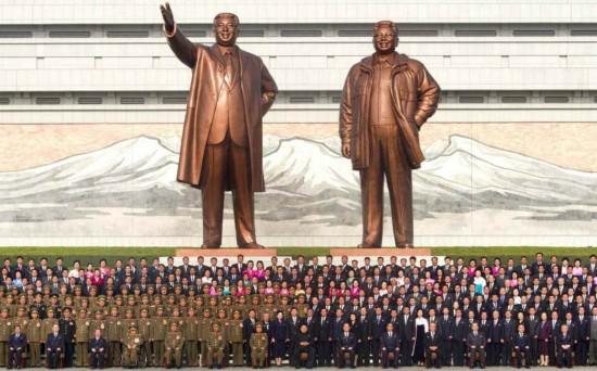图:朝鲜举国欢庆金正恩再次当选最高领导人