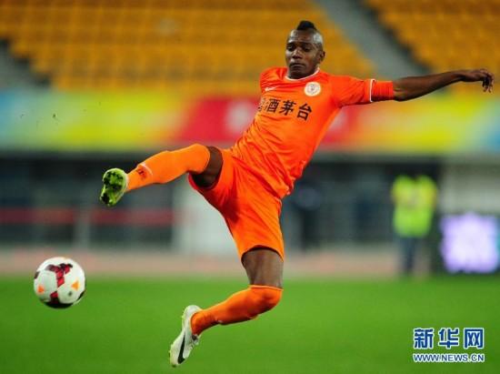 (体育)(3)足球――中超:贵州人和对阵北京国安