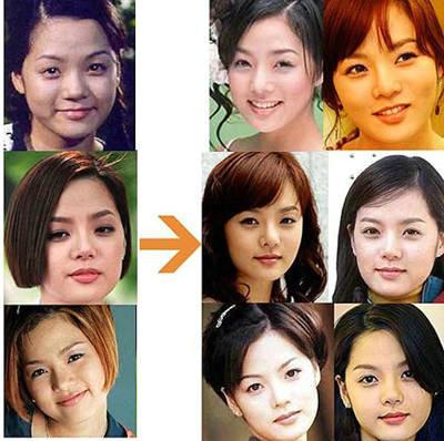 蔡琳容貌改变不少
