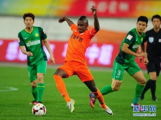 (体育)(1)足球――中超:贵州人和对阵北京国安