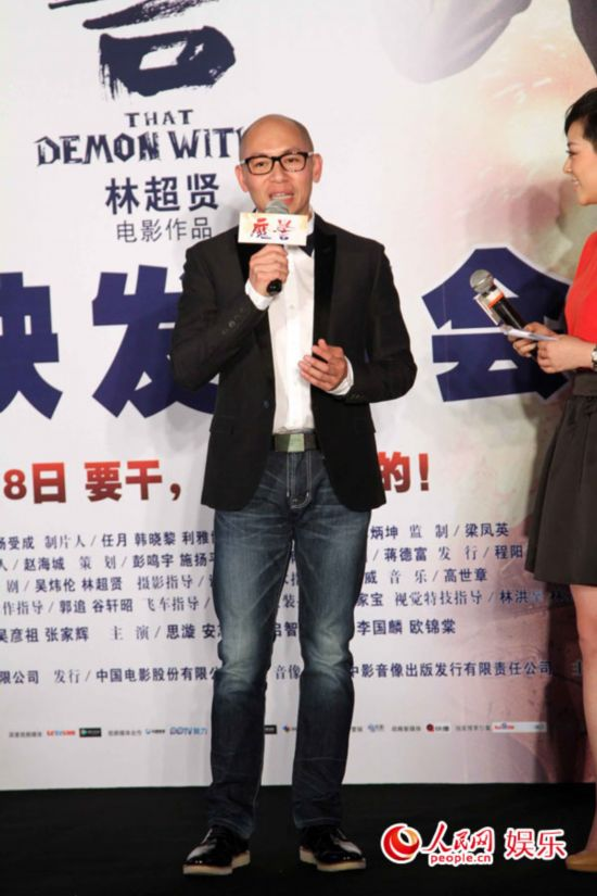 吴彦祖为《魔警》减重30磅 笑言想摸张家辉身体【4】