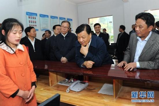(时政)(3)刘云山在湖北调研