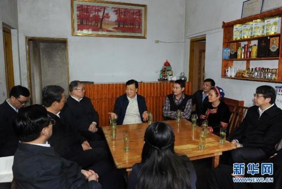(XHDW)(2)刘云山在湖北调研