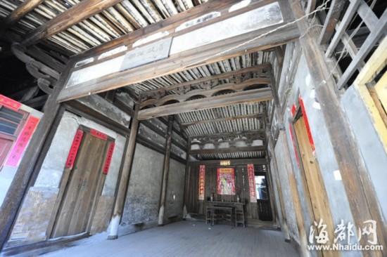 古代朝鲜房屋内部结构